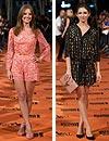 Dos prendas 'mini': así es el estilo de las actrices españolas sobre la alfombra naranja