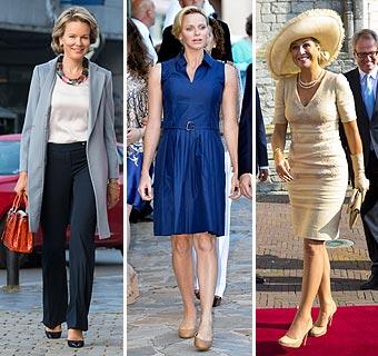 Una semana de 'moda real' en color azul
