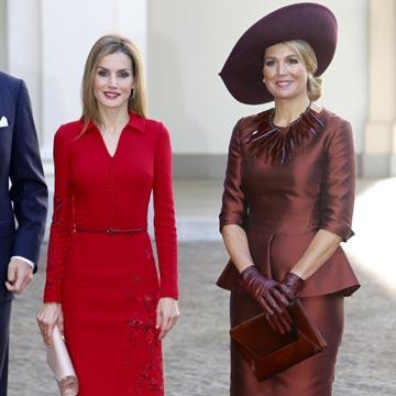 Máxima y Letizia: dos estilos 'reales' que coinciden en los Países Bajos