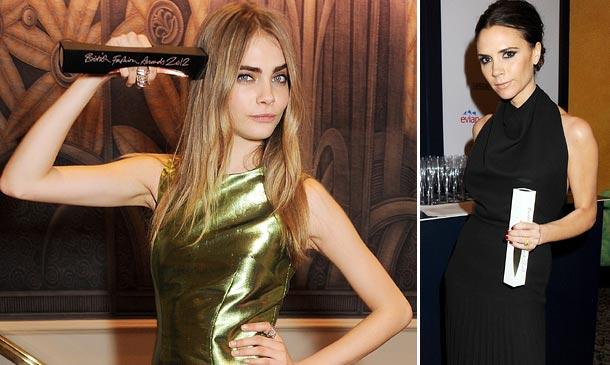 Victoria Beckham y Cara Delevingne: ¿Este año sí volverán a sostener en sus manos un 'British Fashion Awards'?