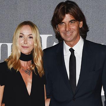 La diseñadora Frida Giannini y su pareja, Patrizio di Marco, dicen 'adiós' a Gucci
