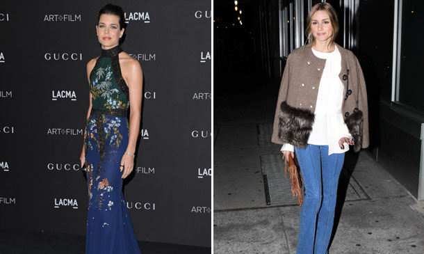 Carlota Casiraghi y Olivia Palermo se coronan como la más elegante y la reina del 'street style' de 2014