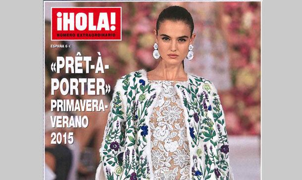 Ya está a la venta el número especial de ¡HOLA! 'prêt-à-porter' primavera-verano 2015