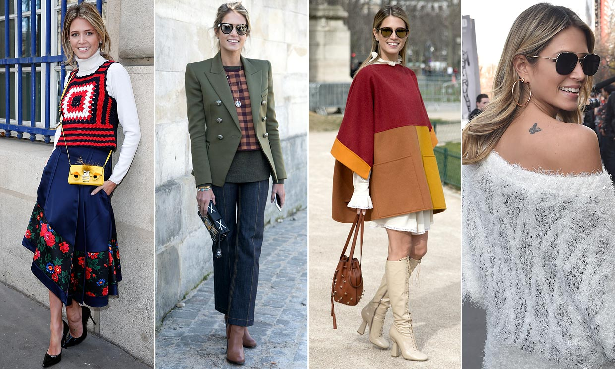 It girls por par s los nombres y looks de 10 estrellas del front row Fashion style girl hiver 2015