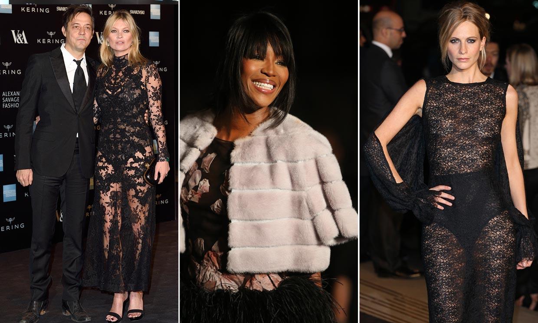 Kate Moss, Victoria Beckham, Beatriz de York… Aciertos y desaciertos en el homenaje 'British' a Alexander McQueen