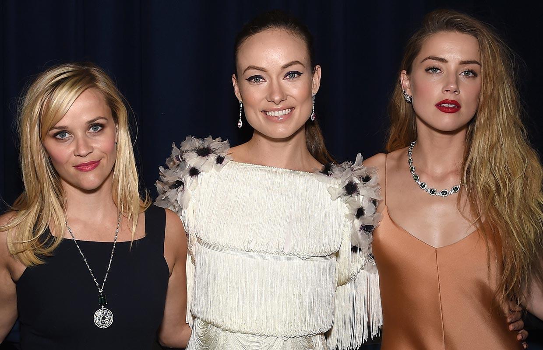 Reese Witherspoon, Olivia Wilde y Amber Heard, enamoradas de las joyas más coloridas