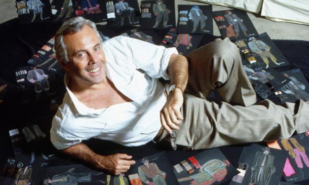 'Felice anniversario'!: Giorgio Armani, 40 años de moda a la italiana