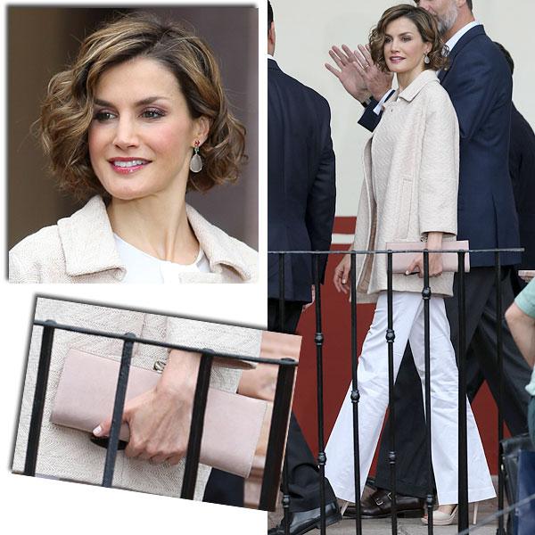 Abrimos su maleta: ¿Qué 'looks' ha llevado la reina Letizia en su visita de Estado a México?