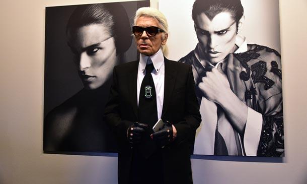 Un viaje visual de la mano de Karl Lagerfeld