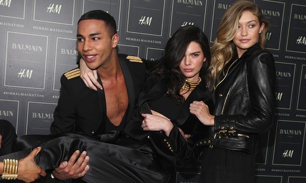 Balmain x H&M: La colección más esperada de la temporada se ha presentado en Nueva York