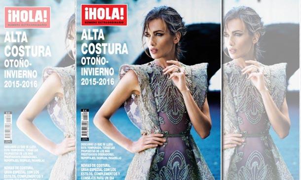 Ya está a la venta el especial ¡HOLA! Alta Costura otoño-invierno 2015-2016