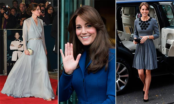 Y la 'royal' más elegante de este año es… ¡La Duquesa de Cambridge!