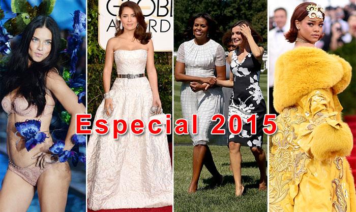 Lo más visto de 2015: Especial moda