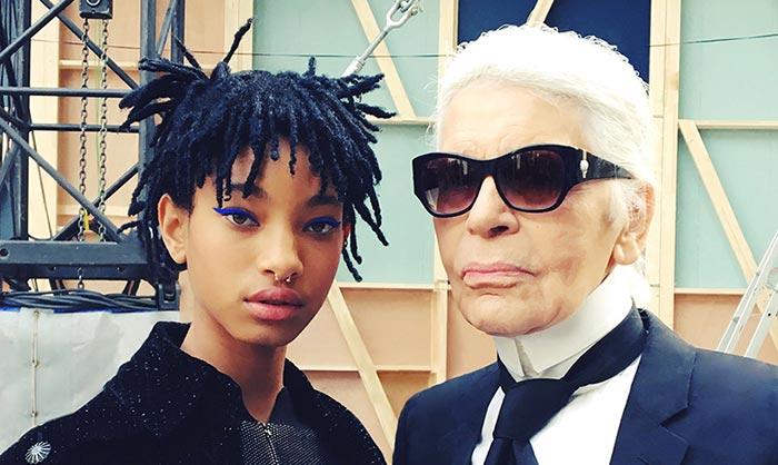 Chanel convierte a Willow Smith en la nueva 'it girl' del momento