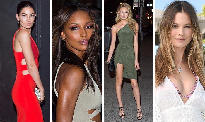 Victoria's Secret y sus 'ángeles' plantan cara al invierno con su 'especial bañadores'
