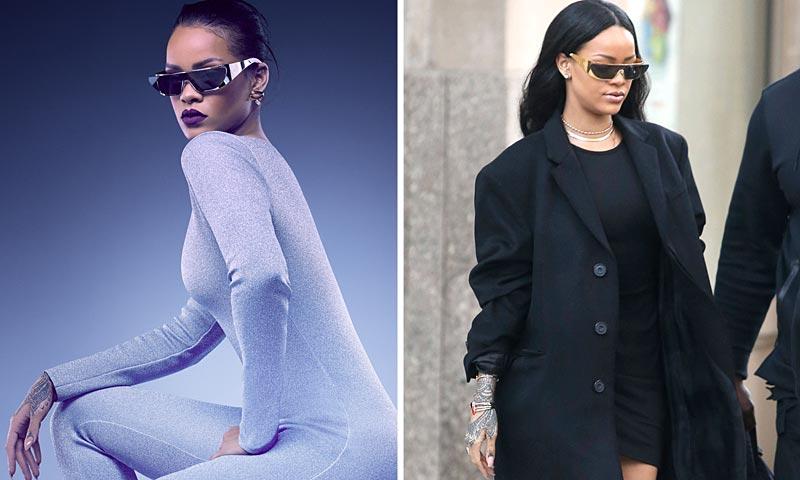 Rihanna, ahora, diseñadora de Dior (y ¡ya luce sus diseños!)
