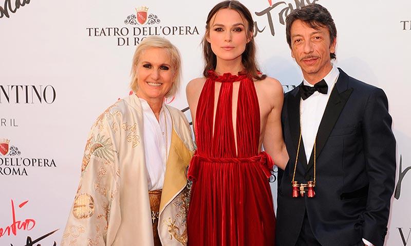 Maria Grazia Chiuri abandona Valentino... por Dior