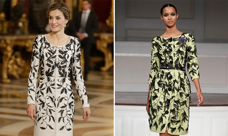 Doña Letizia y el vestido de la polémica: ¿Casualidad o copia?