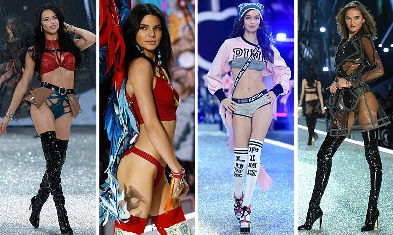 Sólo para tus ojos: Todos los 'looks' y todas las modelos que han desfilado en Victoria's Secret Fashion Show 2016