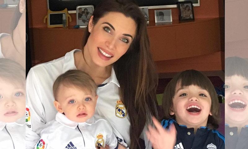 Los hijos de Sergio Ramos y Pilar Rubio, los más jóvenes (y fieles) fans de su papá