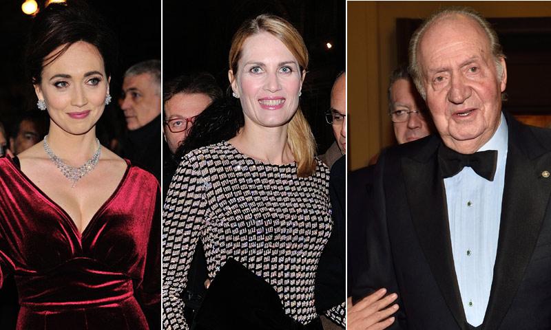Isabella Borromeo, Chiara Francini, Cristina Parodi... Las personalidades que acompañaron al rey Juan Carlos en su noche de ópera en Milán