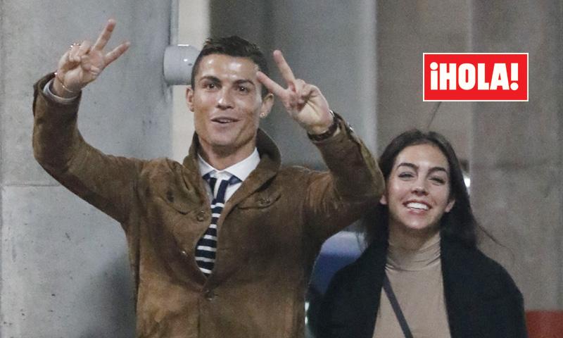 Exclusiva en ¡HOLA! Cristiano Ronaldo, mucho que celebrar junto a Georgina Rodríguez