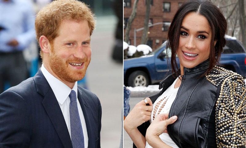 Harry de Inglaterra y Meghan Markle, fotografiados juntos por primera vez