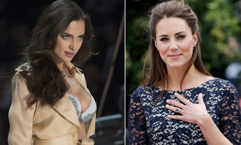 El anillo de Irina Shayk, similar al de la duquesa Catherine, desata los rumores de compromiso
