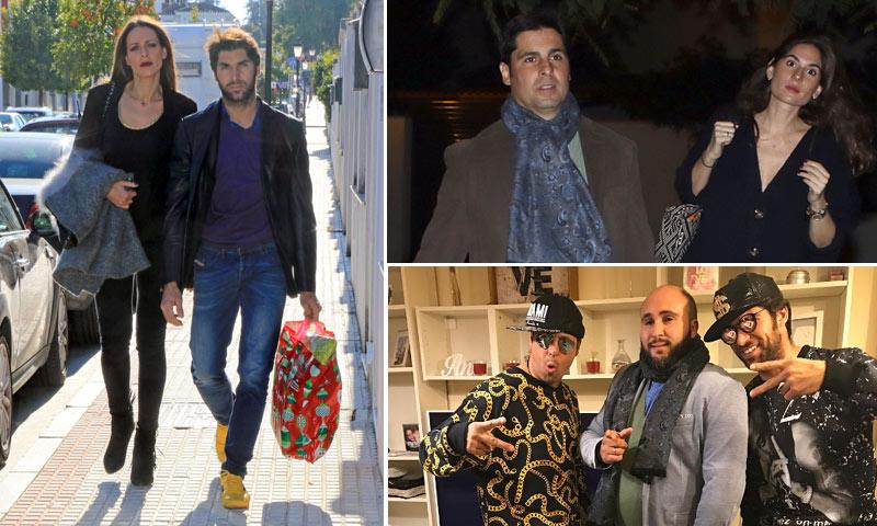 Intercambio de estilismos, regalos para todos... las fiestas más familiares (y divertidas) de los hermanos Rivera