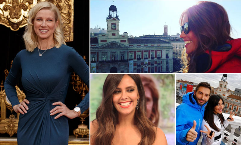 Cristina, Lara, Irene y Anne: así se preparan las chicas de las campanadas en las horas previas