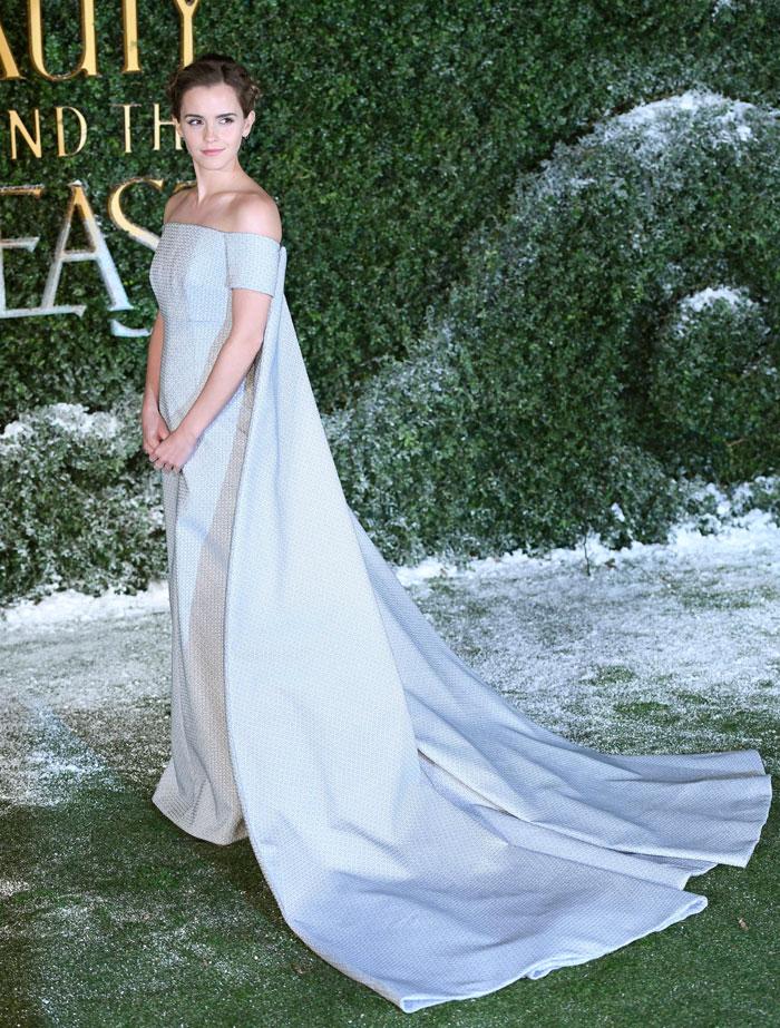 Vestido blanco de bella y la bestia