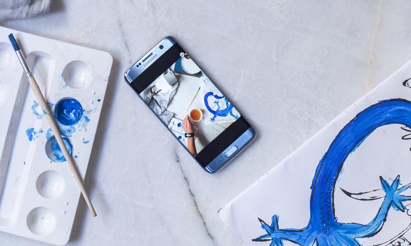 ¡Ahora tu color favorito en un Samsung Galaxy S7 edge!