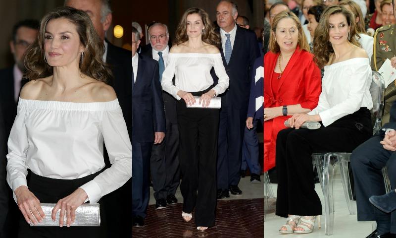 La reina Letizia sorprende con la camisa de moda en los Premios Barco de Vapor