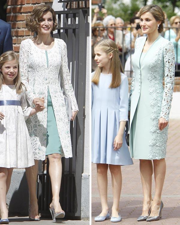 Vestido comunion reina letizia