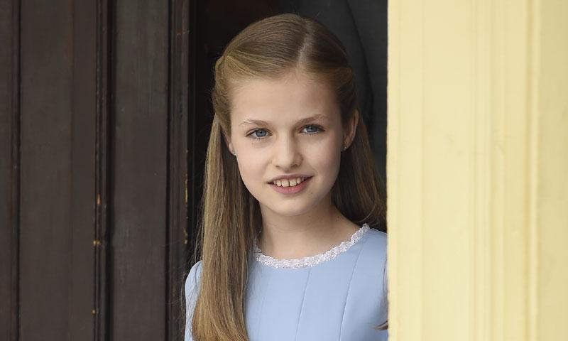 Leonor, una princesa 'New Look', en la comunión de la Infanta Sofía