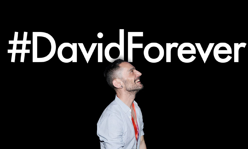 'Todo por hacer, todo por dar', #DavidForever
