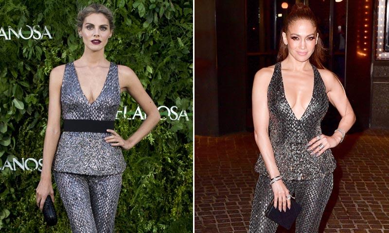 ¿Quién lo lleva mejor? Amaia Salamanca y Jennifer Lopez, dos 'celebrities' y un look