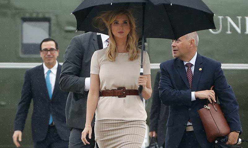 Los 'looks' de Ivanka Trump: ¿Quién viste a la hija mayor del Presidente de Estados Unidos?