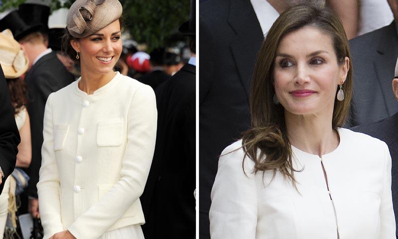 La reina Letizia Vs. la Duquesa de Cambridge: ¿Inspiración o casualidad?