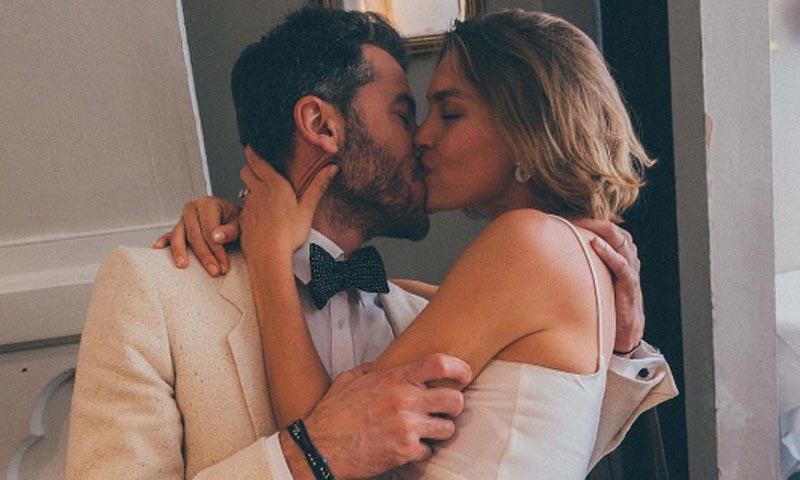 Arizona Muse protagoniza una boda de película en Londres