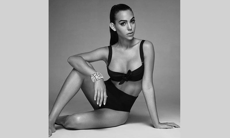 Georgina Rodríguez debuta como modelo con esta espectacular imagen