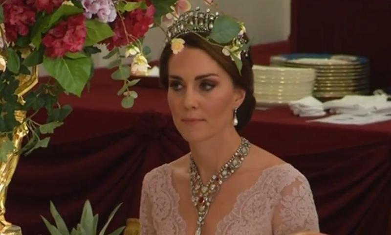 Cuando la Duquesa de Cambridge se vistió de princesa gracias a Marchesa