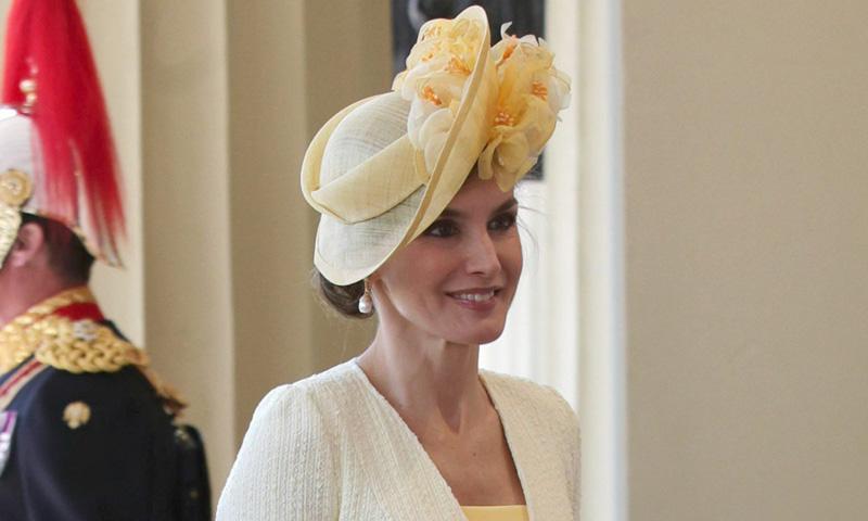 Philip Treacy, el sombrerero más famoso del mundo, se reunió en Madrid con la reina Letizia