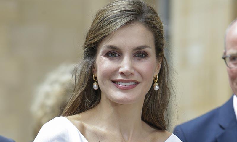 El 'look' ganador de la reina Letizia: algo nuevo, algo británico y algo español