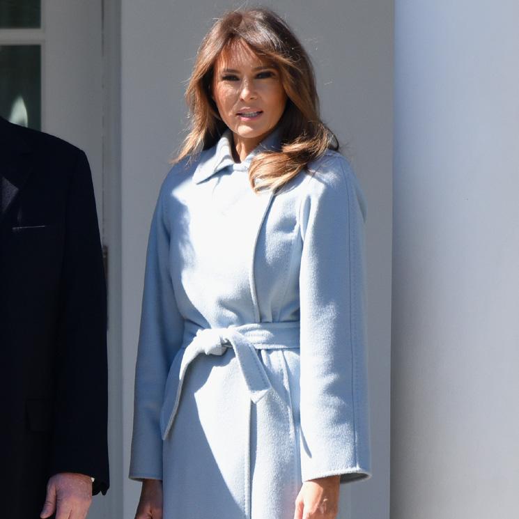 26322d0724 Cómo Melania Trump diseña su imagen a través de la moda  vestidos ...
