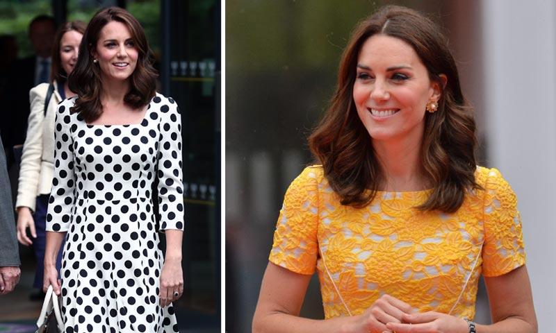 Los 'looks' de la Duquesa de Cambridge que han logrado confundirla con una reina