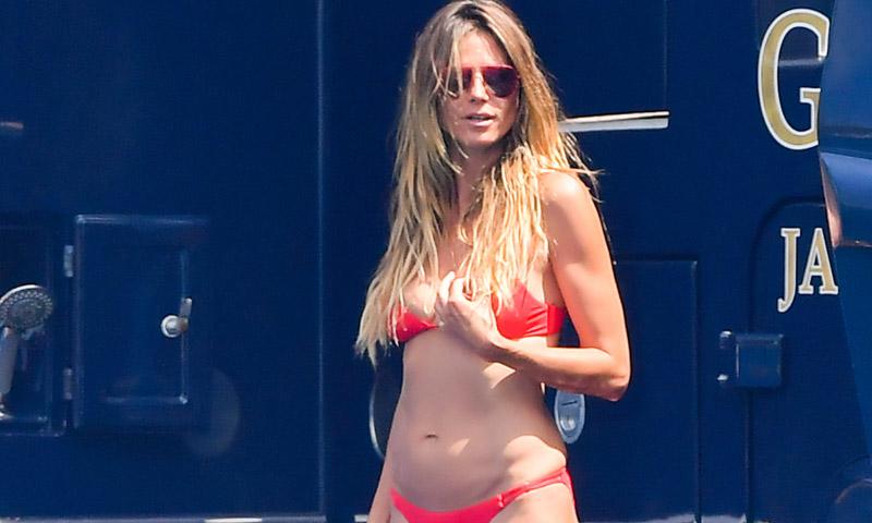 Doutzen Kroes y Heidi Klum, dos formas de llevar bikini cuando superas los 30 y los 40
