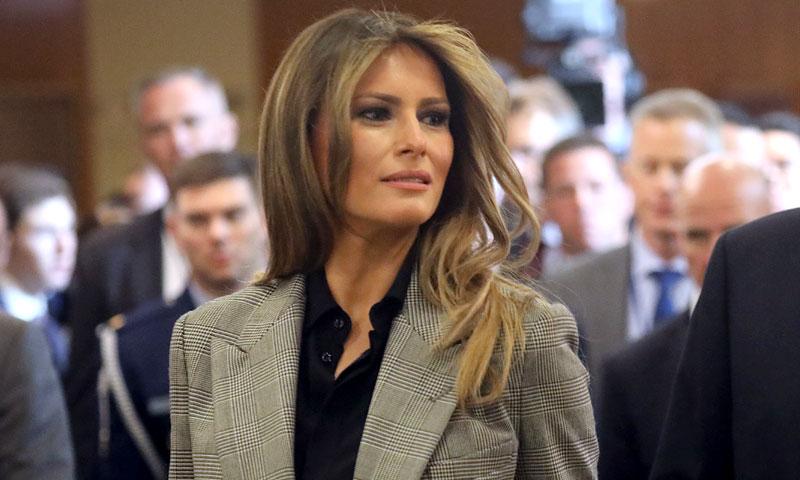 Melania Trump, tras la pista del 'blazer' de Zara de Marta Ortega