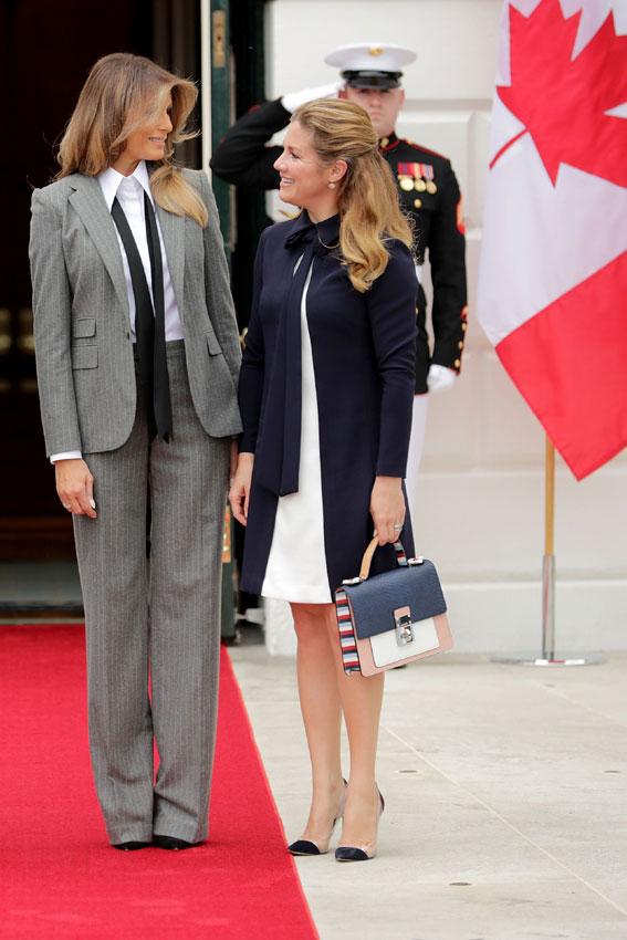 Melania Trump Tiene El Toque Femenino Definitivo Para El