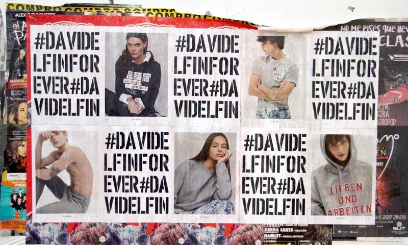 #davidelfinforever, el homenaje urbano a David Delfín en una fecha muy señalada